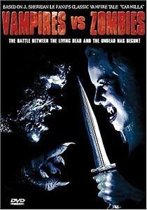 Вампиры против зомби на DVD