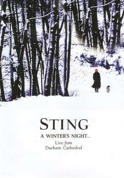 Sting A winter`s night Live from Durham Cathedral на DVD