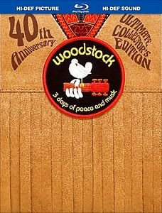Woodstock - 3 Days of Peace & Music (The Director's Cut) на DVD