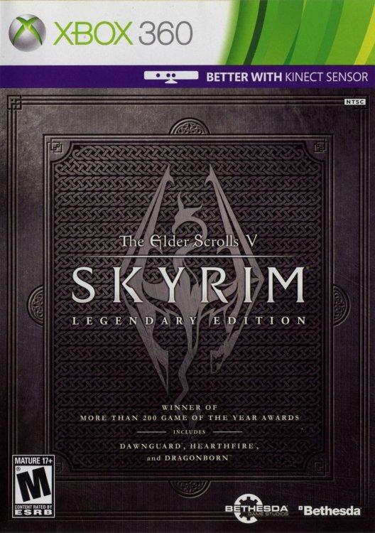 The Elder Scrolls V Skyrim Legendary Edition (2 Xbox 360)