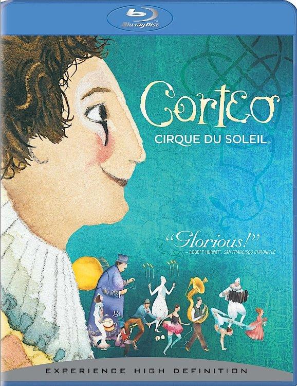 Цирк дю Солей Кортео (Blu-ray) на Blu-ray