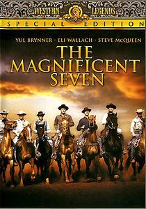 Великолепная семерка/Возвращение великолепной семерки/Ружья великолепной семерки/Великолепная семерка снова в седле на DVD