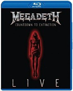 Megadeth Coundown To Extinction Live (Blu-ray)* на Blu-ray