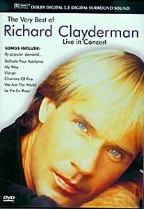 Richard Clayderman - Live in Concert на DVD