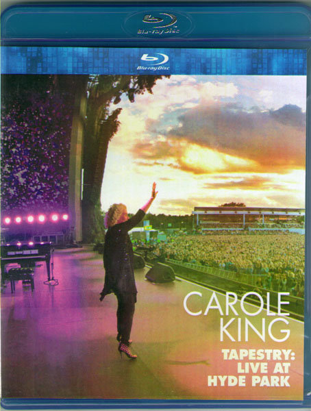 Carole King Tapestry Live in Hyde Park 2016 (Blu-ray)* на Blu-ray