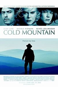 Холодная гора на DVD