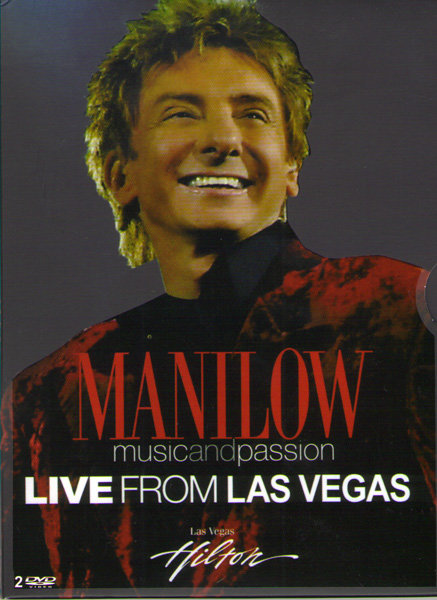 Manilow Live from Las Vegas (2 DVD) на DVD