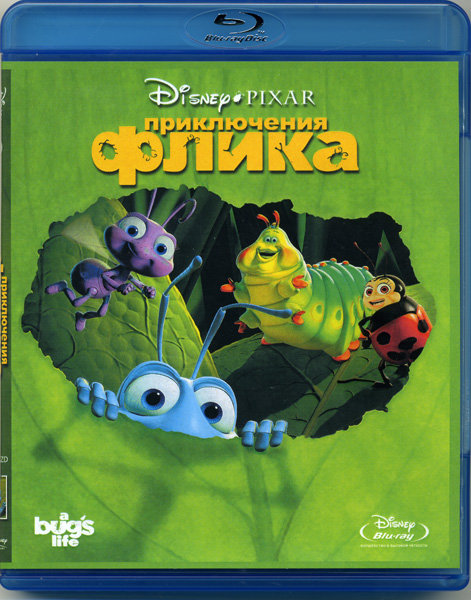Приключения Флика Жизнь жуков (Blu-ray) на Blu-ray