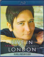 K D Lang Live in London with BBC Orchestra (Blu-ray)