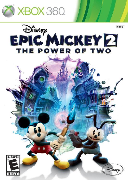 Disney Epic Mickey 2 The Power of Two (Disney Epic Mickey Две легенды) (Xbox 360)