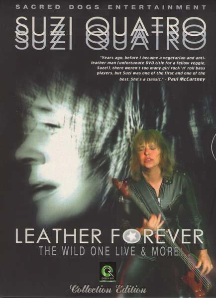 Suzi Quatro Leather Forever The wild one...Live&vide на DVD