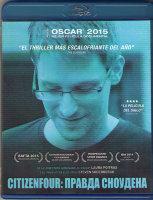 Правда Сноудена (Гражданин четыре / Citizenfour Правда Сноудена) (Blu-ray)