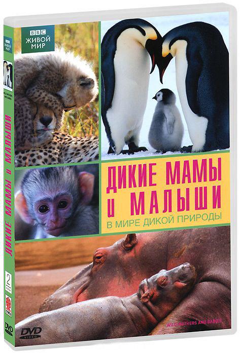 BBC Дикие мамы и малыши В мире дикой природы на DVD