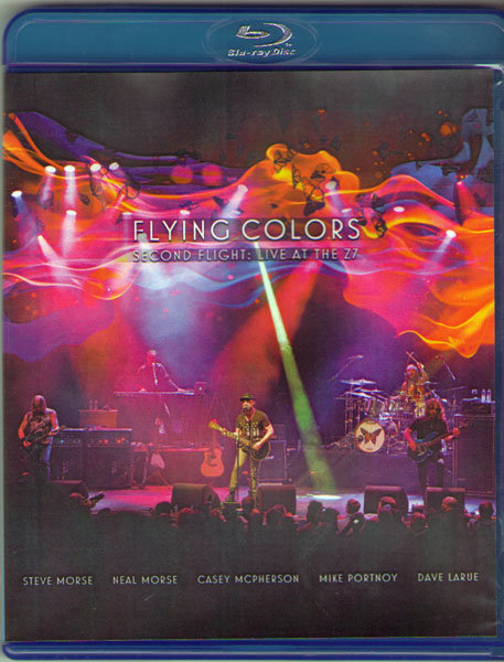 Flying Colors Second Flight Live At The Z7 (Blu-ray)* на Blu-ray