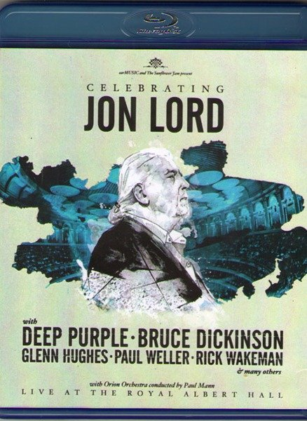 Celebrating Jon Lord with Deep Purple and Friends Live at The Royal Albert Hall (Blu-ray)*