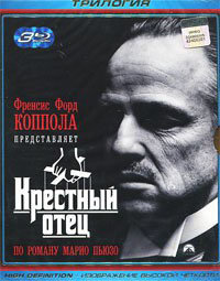 Крестный отец 1,2,3 (3 Blu-ray) на Blu-ray