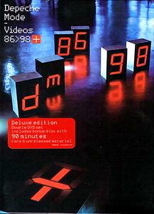 Depeche Mode - The Videos 86-98 на DVD