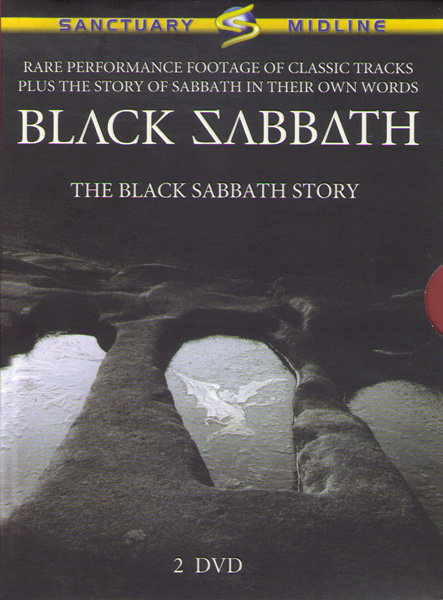 Black Sabbath The black sabbath story (2 DVD) на DVD