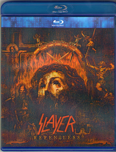 Slayer Repentless (Live At Wacken 2014) (Blu-ray)* на Blu-ray