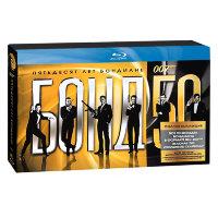Бонд 50 + 007 Координаты Скайфолл (24 Blu-Ray)