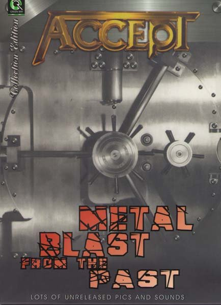 Accept - Metal Blast From The Past на DVD