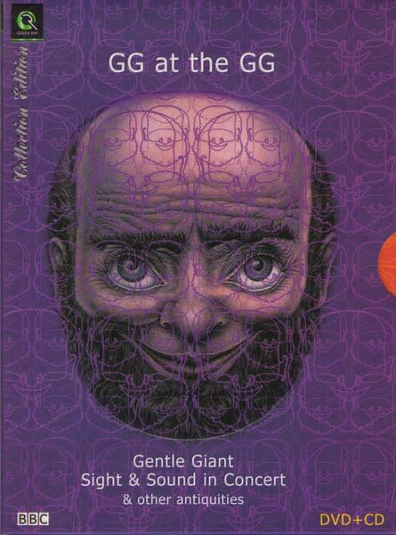 Gentle Giant - GG at the GG - Sight & Sound in Concert (CD+DVD) на DVD