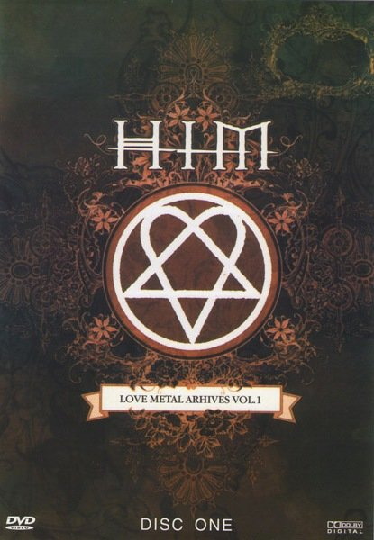 Him Love Metal Arhives, Vol. 1 (2 DVD) на DVD