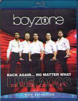 Boyzone Back Again No Matter What Live 2008 (Blu-ray)