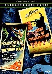 Франкенштейн встречает Человека-волка на DVD