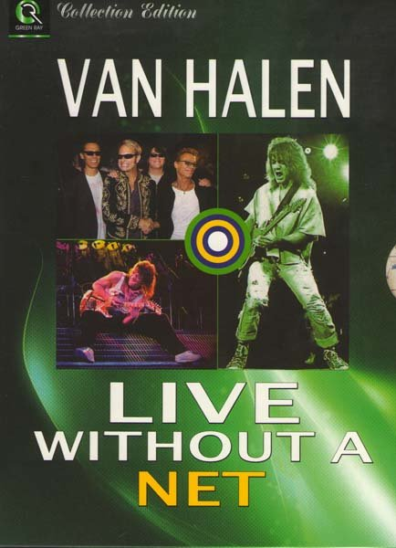 Van Halen Live Without A Net на DVD