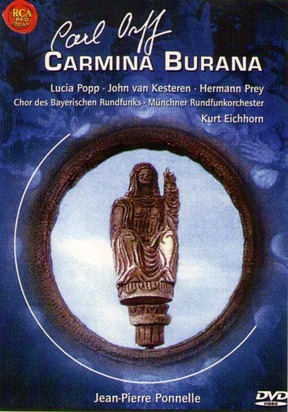 CARL ORFF Carmina Burana (Без полиграфии!) на DVD