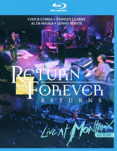 Return To Forever Live At Montreux 2008 (Blu-ray)*
