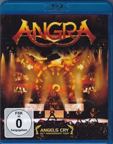Angra Angels Cry 20th Anniversary Tour (Blu-ray)* на Blu-ray