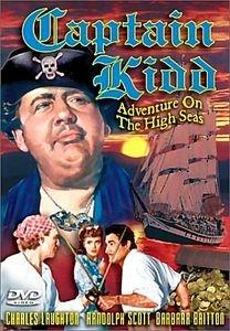 Капитан Кидд  на DVD