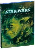 Звездные войны Эпизоды I, II, III (3 Blu-ray)