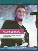 Alejandro Sanz Canciones Para Un Paraiso En Vivo (Blu-ray)