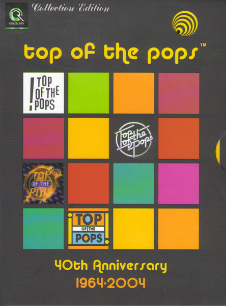 Top of the pops 40th Anniversary edition 1964-2004 на DVD