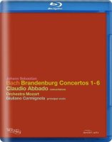 Bach Brandenburg Concertos 1,2,3,4,5,6 (Blu-ray)