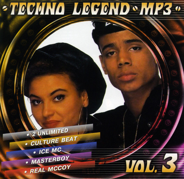 Techno Legend  vol.3 (mp 3) на DVD