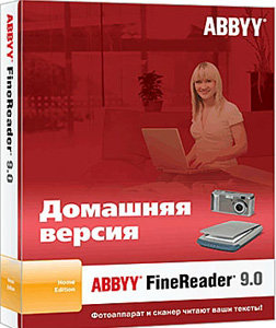 ABBYY FineReader 9.0 Home Edition (PC CD)