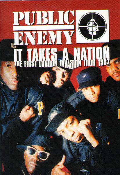 Public Enemy It Takes A Nation London Invasion Tour 1987 на DVD
