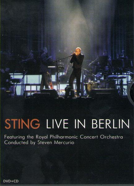 Sting Live At Berlin (CD+DVD) на DVD