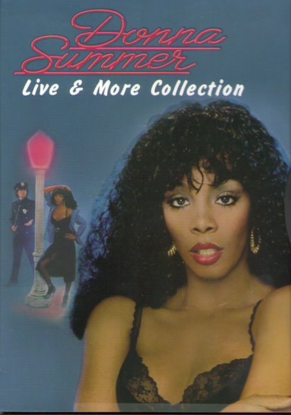 Donna Summer Live And More collection на DVD