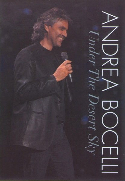Andrea Bocelli - Under the Desert Sky на DVD