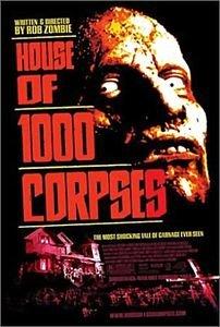 Дом 1000 трупов на DVD