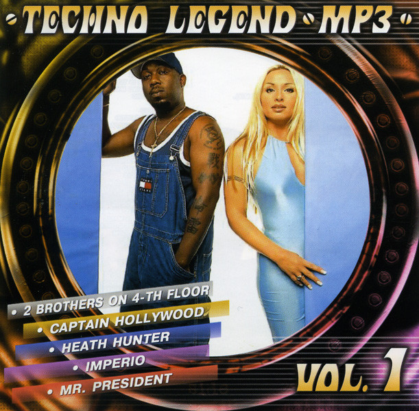 Techno Legend  vol.1 (mp 3) на DVD