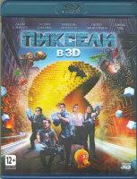 Пиксели 3D+2D (Blu-ray 50GB)