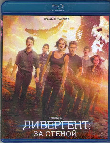Дивергент глава 3 За стеной (Blu-ray) на Blu-ray