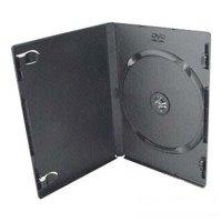 Коробка для DVD-диска UltraSlim на 1 шт (черная)
