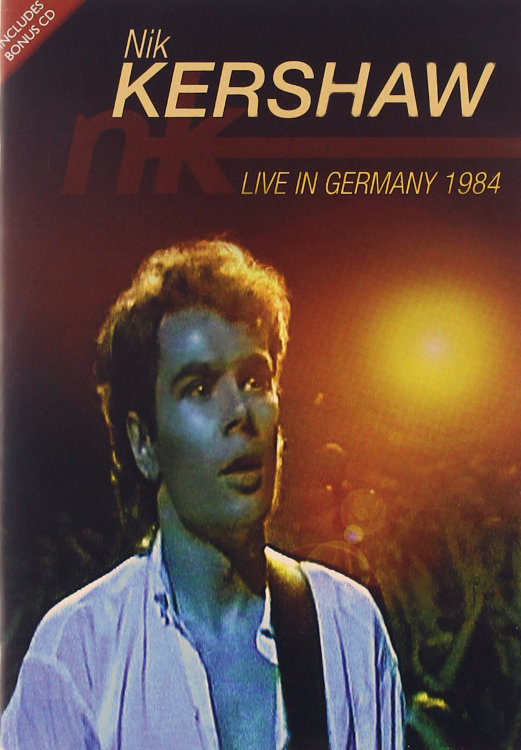 Nik Kershaw Live In Berlin The Essential (Live in Germany 1984) (DVD+CD) на DVD